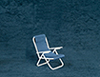 AZEIWF568 - Small Chair/Blue/White