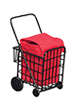 Grocery Cart W/Bag/Black