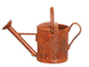 Large Watering Can/Rust