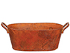 Oval Washtub/Rust