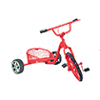 AZEIWF594 - Red Pedal Car
