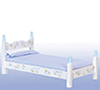 AZEMWF616 - Blue Single Bed