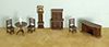 AZG1453 - 1/4 Inch Dining Room Set, 8Pc