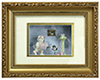 AZG4822 - Bear with Hat/Shoes Shadowbox