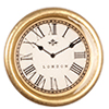 AZG7009 - Small Gold Wall Clock