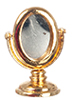 AZG7125 - Gold Dressing Table Mirror