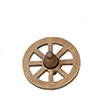 AZG7157 - 1 3/4 Inch Wagon Wheel