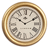 AZG7188 - Small Gold Clock