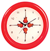 AZG7189 - Small Red Guitar Clock
