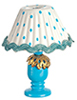 AZG7194 - Blue Table Lamp-Diy