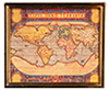 AZG7205 - Ancient Map/Gold Metal Fr