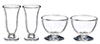 AZG7266 - Vases & Large Bowls Set, 4pc
