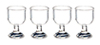 AZG7271 - Wine Glasses Set, 4pc