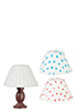 AZG7281 - Wood Table Lamp with 3 Shades