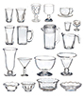 AZG7344 - Kitchen Set/21Pcs