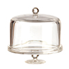 AZG7399 - Covered Cake Dish, Cylinder