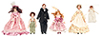 AZG7651 - Vict. Family W/Maid, 6Pc