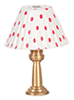 AZG7996 - Table Lamp/Red Shade/N.E.
