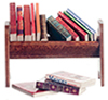 AZG8062 - Book Rack with Books