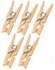 AZG8076 - Wooden Clothespins, 5pc
