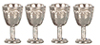 AZG8174 - Antique Silver Goblets/4