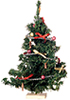 AZG8182 - Xmas Tree Dec W/Ornaments