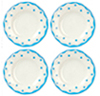 AZG8200 - Blue Dotted Plates/4