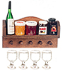 AZG8208 - Garn. Kitchen Wall Shelf/W