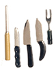 AZG8226 - Kitchen Knives/Set/5