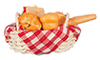 AZG8361 - Basket Of Bread/Sandwich