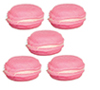 AZG8395 - Strawberry Macarons/5Pcs