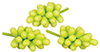 AZG8398 - Green Grapes/3 Bunches
