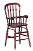 AZG9819M - Victorian High Chair/Mah