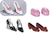 AZGS4007 - Mini Shoes/Assorted/St/12