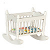AZM0384 - Rocking Cradle, White/Cb