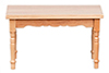 AZM0537A - Kitchen Table Rect/Oak