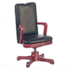 AZM0713 - Swivel Desk Chair, Black/Cb