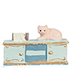 AZMA9212 - Mini Blue Console W/Cat