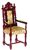 AZP3081 - Grand Occasion Armchair, Magohany