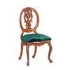 AZP6306 - Le Pet. Paulinese Side Chair, Walnut