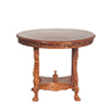 AZP6307 - Le Pet. Paulinese Game Table, Walnut