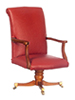 AZP6351 - Obama Oval Office Chair, Walnut