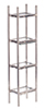 AZS1052 - Chrome/Glass/Etagere