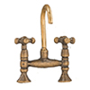 AZS1206 - Old Fashion Faucet Set, Antique B