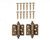 AZS1508 - Hinges W/12 Pins/Ant.Br/2