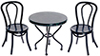 AZS8513 - Black Marble Table Set, 3