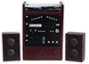 AZT3258 - Stereo with Speakers, Mahogany, Cb