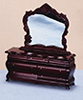 AZT3267 - Fancy Victorian Dresser with Mirror, Mahogany