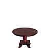 AZT3461 - Round Table, Mahogany