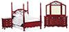 AZT3482 - Double Bedroom Set/3/M/Cb